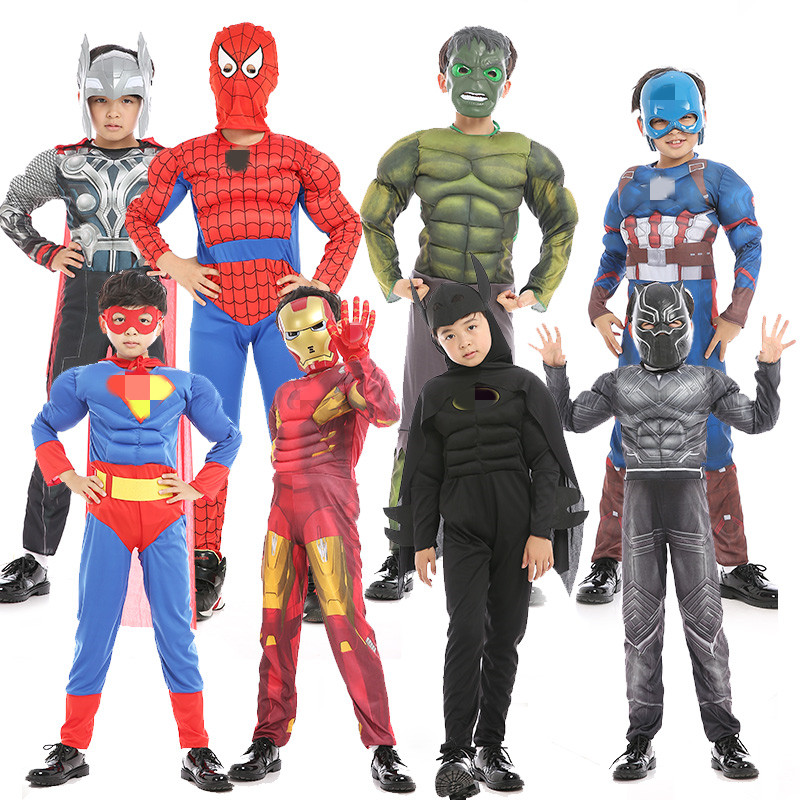 fashion high quality baby halloween costumes Children's Role Play Clothes birthday party kids supper hero costume