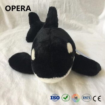 Ce En71 Animal Sea Life Black White Orca Killer Whale Giant Stuffed Plush