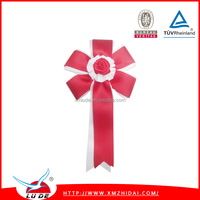 2015 new arrival parties/meeting/racing award ribbon button badge award ribbon rosettes