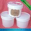 Custom Made Food Grade Disposable Ice Cream Paper Cup With Lid