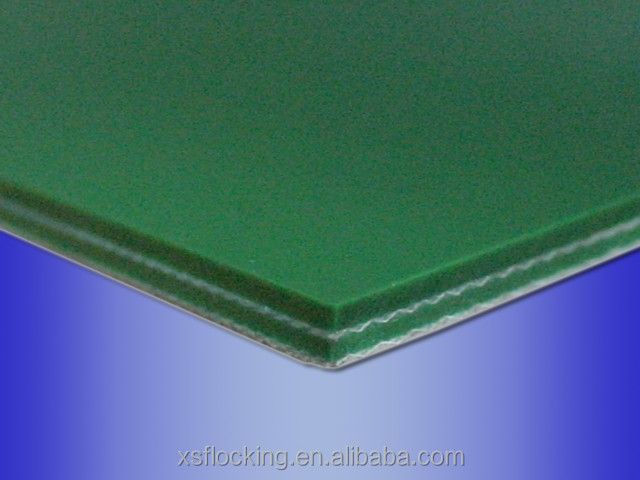 100mm width flocking fabric for adding friction by covering on expansion cylinder of textile machinery