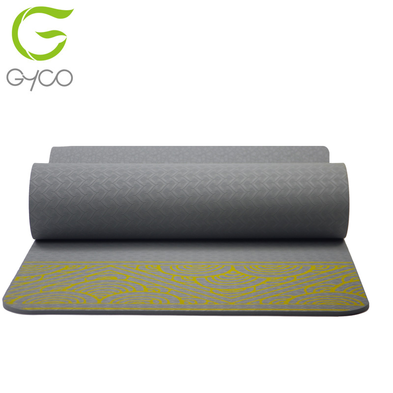 Factory Supply TPE Suede Microfiber Yoga Mat