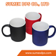 11oz Sublimation Color Changing Magic Ceramic Mug With Matte , Glossy , Sandy Surface