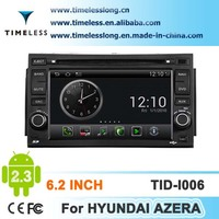 S150 andriod system CAR Stereo DVD For Hyundai Azera 2006-2009 year with GPS/3G/WIFI/BT/IPOD/V-20 disc CDC/PHONE BOOK PLAYER