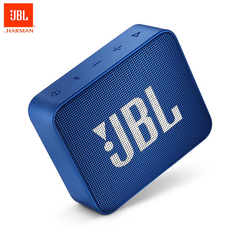 JBL GO 2 Mini Portable IPX7 Waterproof Bluetooth Speakers , Wireless Outdoor Handsfree JBL Speakers with Noise Cancelation Mic