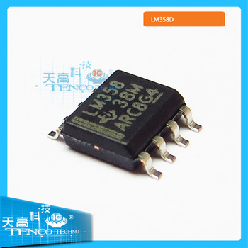 Electronic component LM358D Amplifier IC