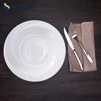 In Stock Microwave Crockery Deep Dinner Plates with Rim & In Stock Microwave Crockery Deep Dinner Plates With Rim - Buy Deep ...