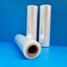23 Micron Schwarz LLDPE Stretch Film Hersteller China/<span class=keywords><strong>Stretchfolie</strong></span>/Lineares Polyethylen Niedriger Dichte