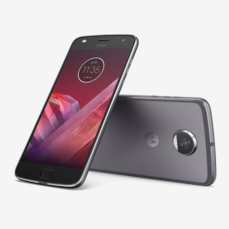 Moto Z2 Play Cell Phone Unlocked 5.5 Inch Amoled HD Screen Thin Cellphone 3000Mah Snapdragon 626 Octa Core Mobile Phones 4G