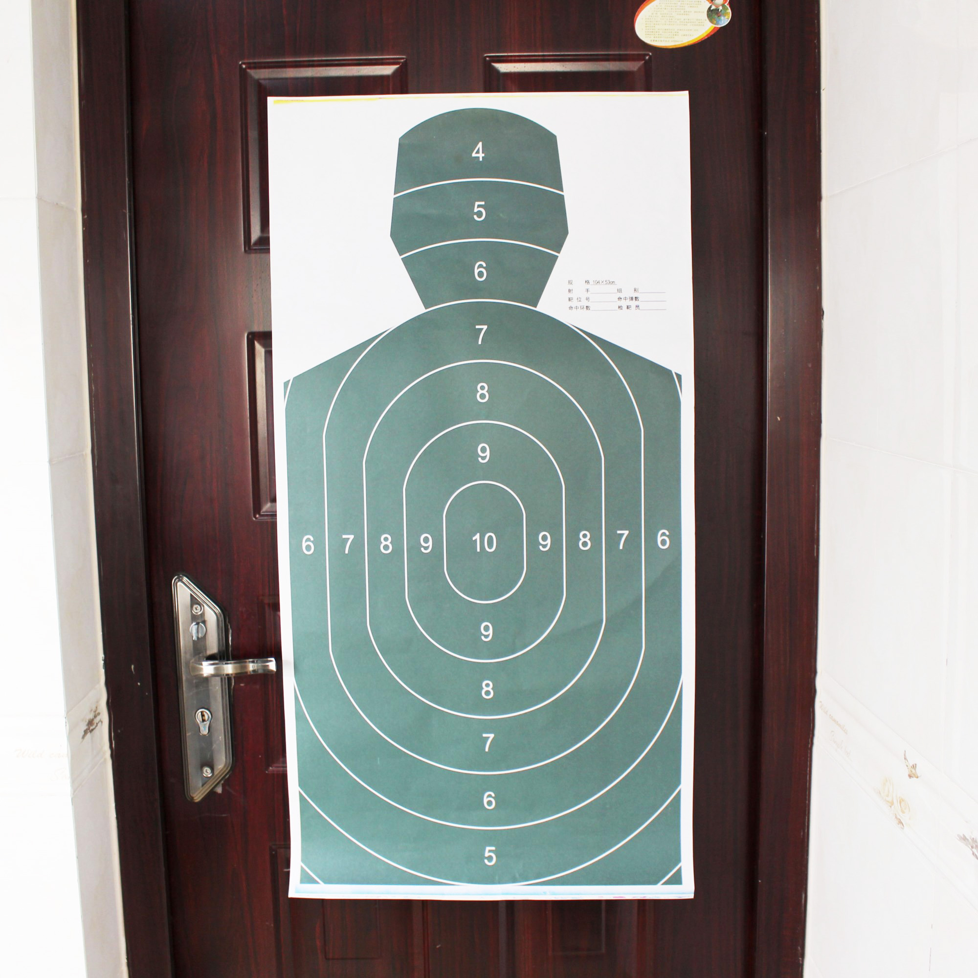 Archery Paper Targets Arrow Targets Shooting Accessories Ideal for Match and Daily Practice Use Outdoor Shooting Practice