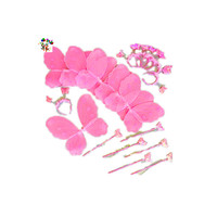 Children Princess Party Wand Headband Set Fairy Wings HPC-0815