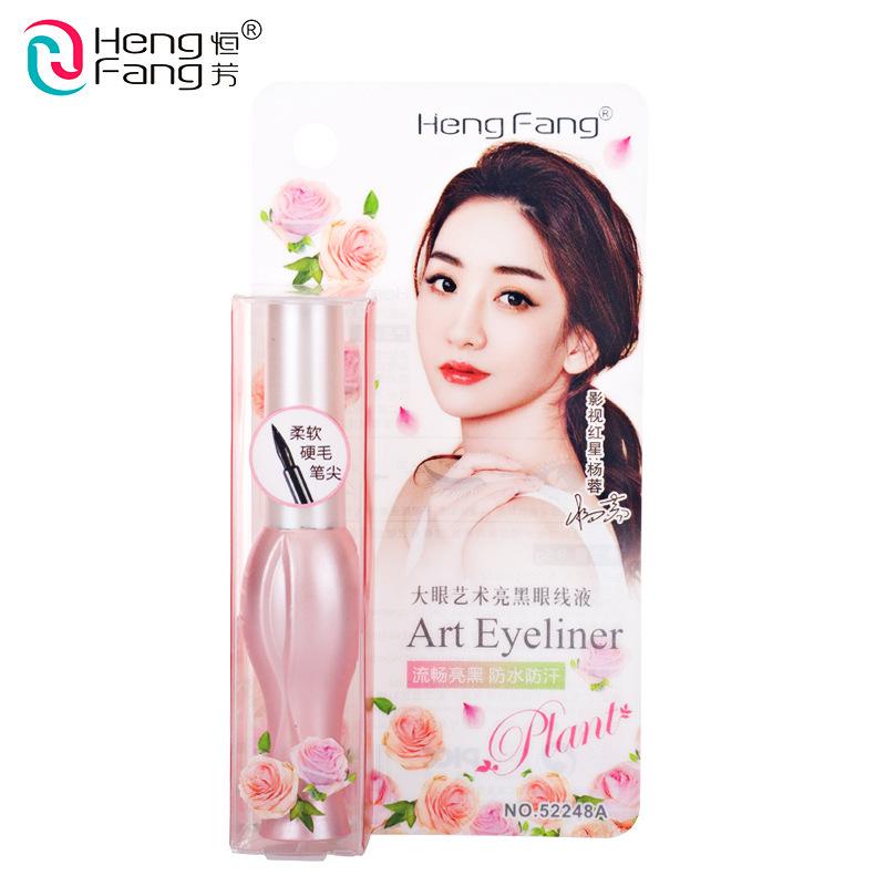 Heng Fang Brand Big Eyes Waterproof Art Eyeliner Liquid Long Lasting