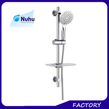 Sliding Arm Mount Shower System With Handheld Shower Head Shower