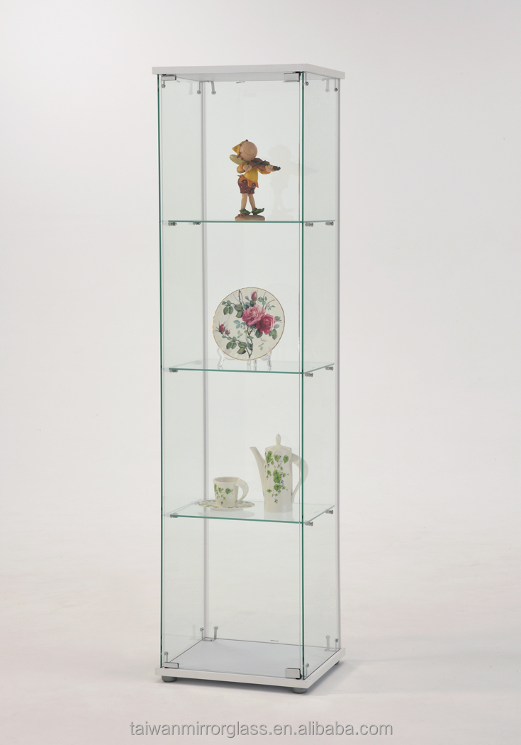 Modern Storage Cheap Wall Accessories Glass Display Showcase - Buy ...