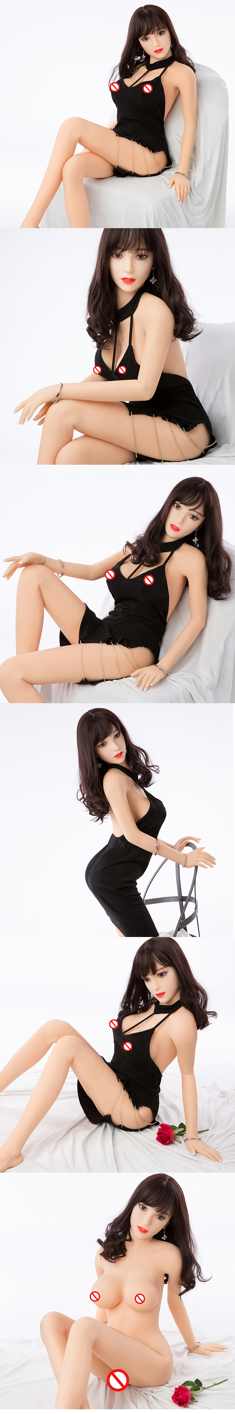 China Sex Doll With Metal Skeleton, Semi Solid Sex Doll Milf, 165cm Sex Doll Dropshipping