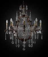 Energy saving newest hanging chandelier light with crystal
