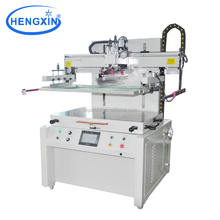 Semi automatic single color CD silk screen printer with vacuum table