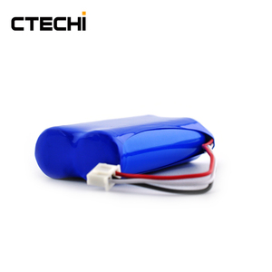 CTECHi rechargeable 1P2S lithium ion 7.4V 2200mAh li-ion 18650 battery pack