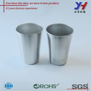 custom as your samples,drawings,SGS,Rohs,stainless steel stamping parts/deep drawing tea stainless steel cup ISO factory