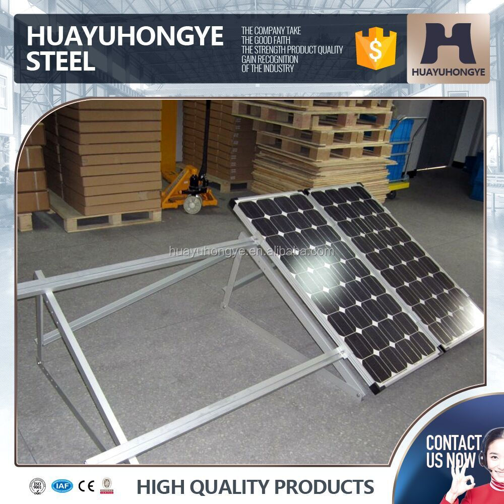 Environmental protection multi color solar mounting