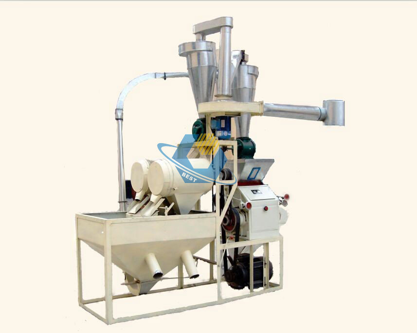 mini wheat flour mill machine