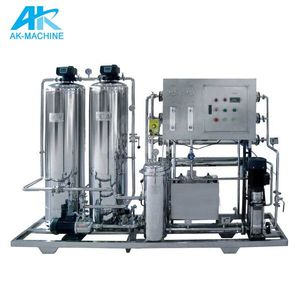Mini waste water treatment plant with RO membrane, small sewage water treatment factory