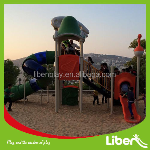 Liben children playground slide toys used commercial playground equipment for sale