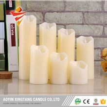 China Factory Remote Controlled Flameless Battery Powered Votive Led Candles