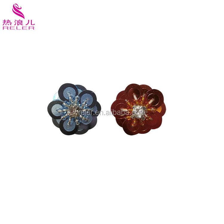 Hot-selling item glass bead jewelry eardrop accessories parts