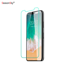 for iPhone X XR XS Max clear tempered glass screen protector 2.5D edge tempered glass for iPhone 6 6S 7 8 Plus