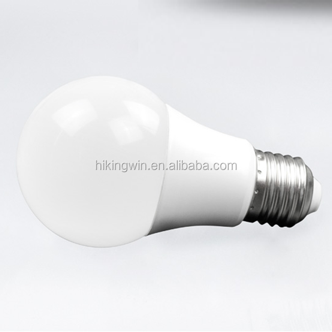 China supplier 3000K Soft White A60 E27 B22 Socke 5 watt led bulb with ETL CE