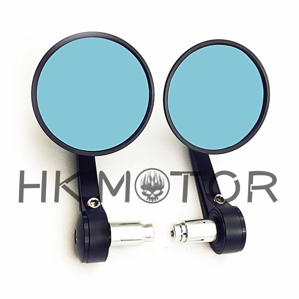 Motorcycle Accessories & Parts Automobiles & Motorcycles Trend Mark Triclicks Left Right Rear View Mirrors Motorcycle End Side Mirror Aluminum Cnc Black Chrome Rearview Mirrors For Harley Model Cheap Sales