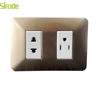 2g Universal Socket American Standard Outlet Wall Electrical Type