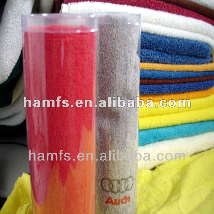 100% cotton compressed promotional gift towel