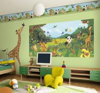 beautiful pvc adhesive farm animal wall stickers home decor of kids room sticker wallpaper