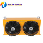 Hydraulic diesel engine oil cooler With Two Fans heat exchanger Unit AH1012L