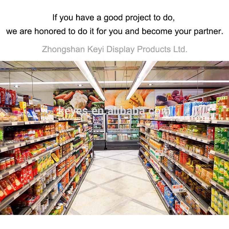 Layout Ontwerp Dubbelzijdig Gondel Supermarkt Planken