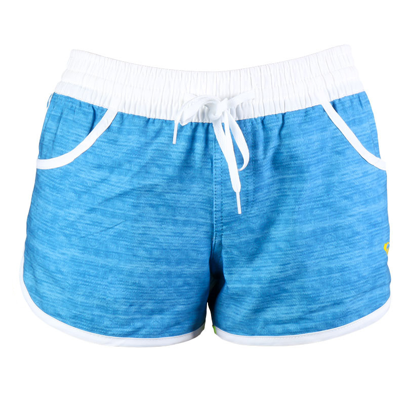 654d65ff62 Lady Board Shorts Beach Swimming Wear Women Casul Swim Wears Ladies Sports  Loose Swimsuits Elastic Fabric Shorts Candy Color