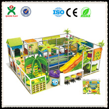 Indoor Play Centre Peralatan Hiburan Anak-anak Bayi Bermain Indoor House (QX-107E)