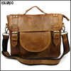 Wholesale premium leather men handbag carry bag