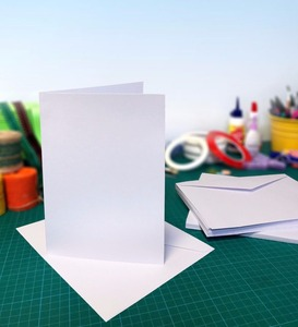 Card Blanks and Envelopes with Multiple Variations | Blank Cards for Card Making