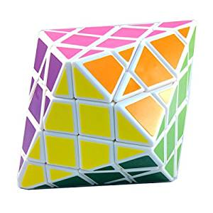 4x4x4 DianSheng Hexagonal Dipyramid White 4x4 Shape Mod Twisty Puzzle Cube