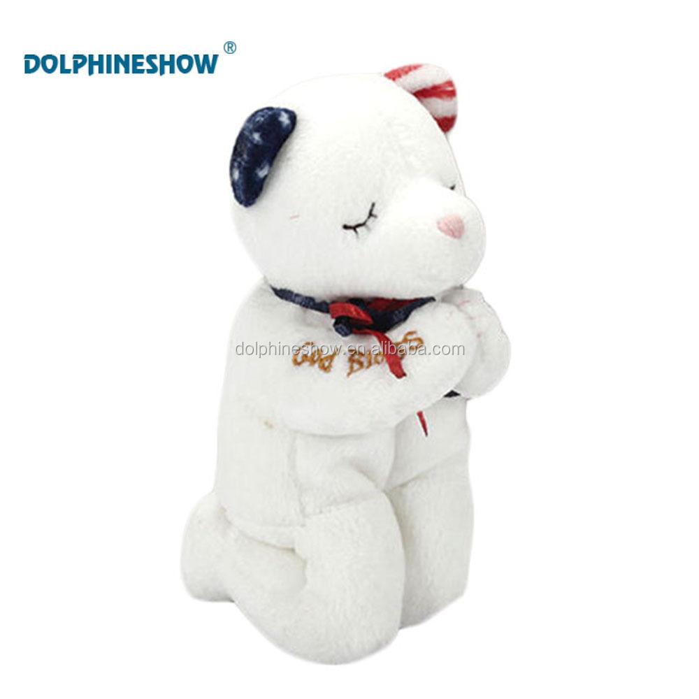 Prayer Plush Bear Toys Funny Talking Toy Soft Stuffed Teddy Bear Kid