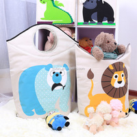 Canvas Storage Bag for Childrens Toys and Room Organizer