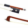 MASTER Level Sterling Silver Fitted Violin Bow PERNAMBUCO Wood Material WARM SWEET Tone 4 4 New