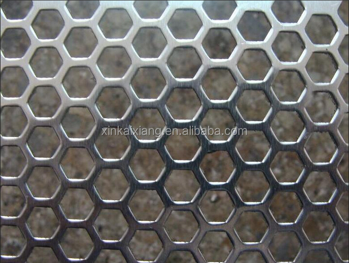 hexagonal perforated metal sheet stainless steel perforated metal sheet decorative metal perforated sheets - Decorative Metal Sheets