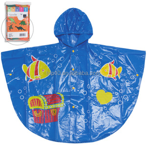 Hot selling PVC children's rain cape