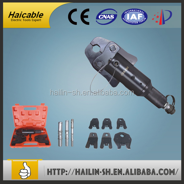 hydrulic type of pipe crimping used in stainless steel pipe and copper pipe crimping