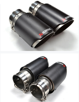 Akrapovic Carbon fiber exhaust muffler tips/exhaust end pipe for vw polo  GTI/GOLf R exhaust, View Akrapovic Carbon fiber exhaust muffler  tips/exhaust