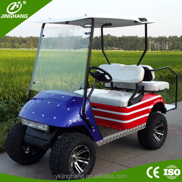3KW 48V electric ezgo golf cart for sale with CE/EPA certificate